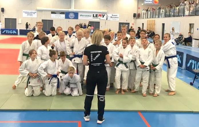 Staffanstorps judoklubbs tävlande i Wemmenhög 2017