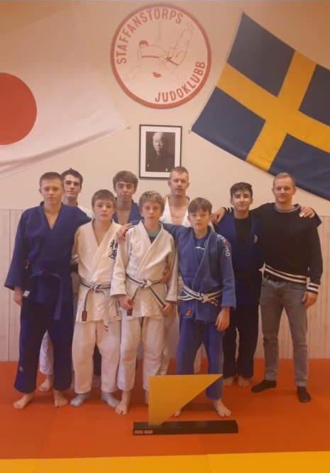 Amager Judoskole, 2019 års vinnare av vandringspriset för bästa gästande klubb