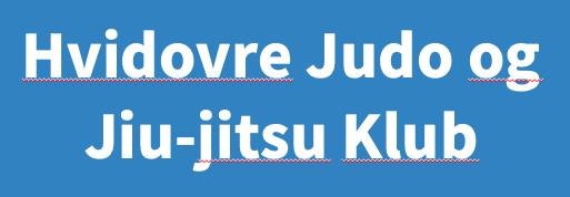 Hvidovre Judo Denmark