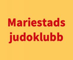 Mariestads judoklubb